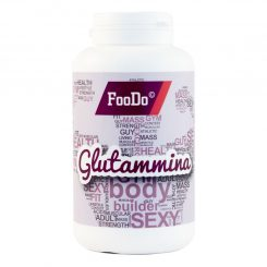 Integrat. Glutammina FooDo 125gr in polvere